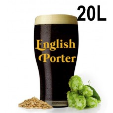 Kit Para Produzir 20 Litros de English Porter Canal do Chopp