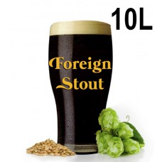Kit Para Produzir 10 Litros de English Stout (Foreign Stout)