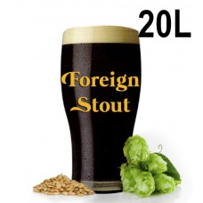 Kit Para Produzir 20 Litros de English Stout (Foreign Stout)